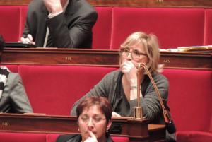 FRANCOISE DUMAS A L'ASSEMBLEE NATIONALE